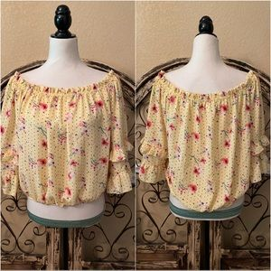 Urban Girl Off the Shoulders Blouse